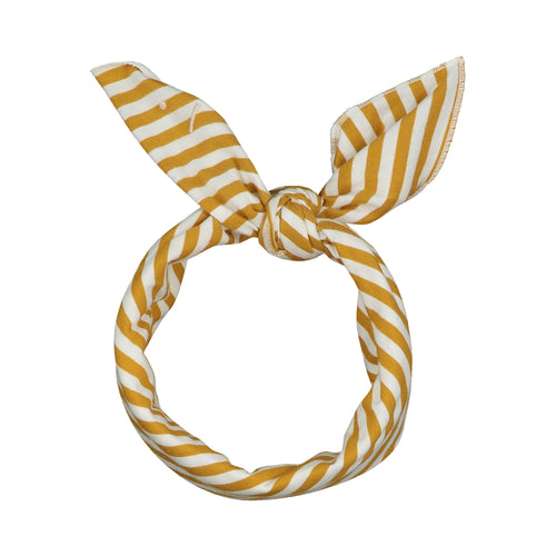 Gray Label Head Scarf // Mustard & Off White by Gray Label - Mini Pop Style