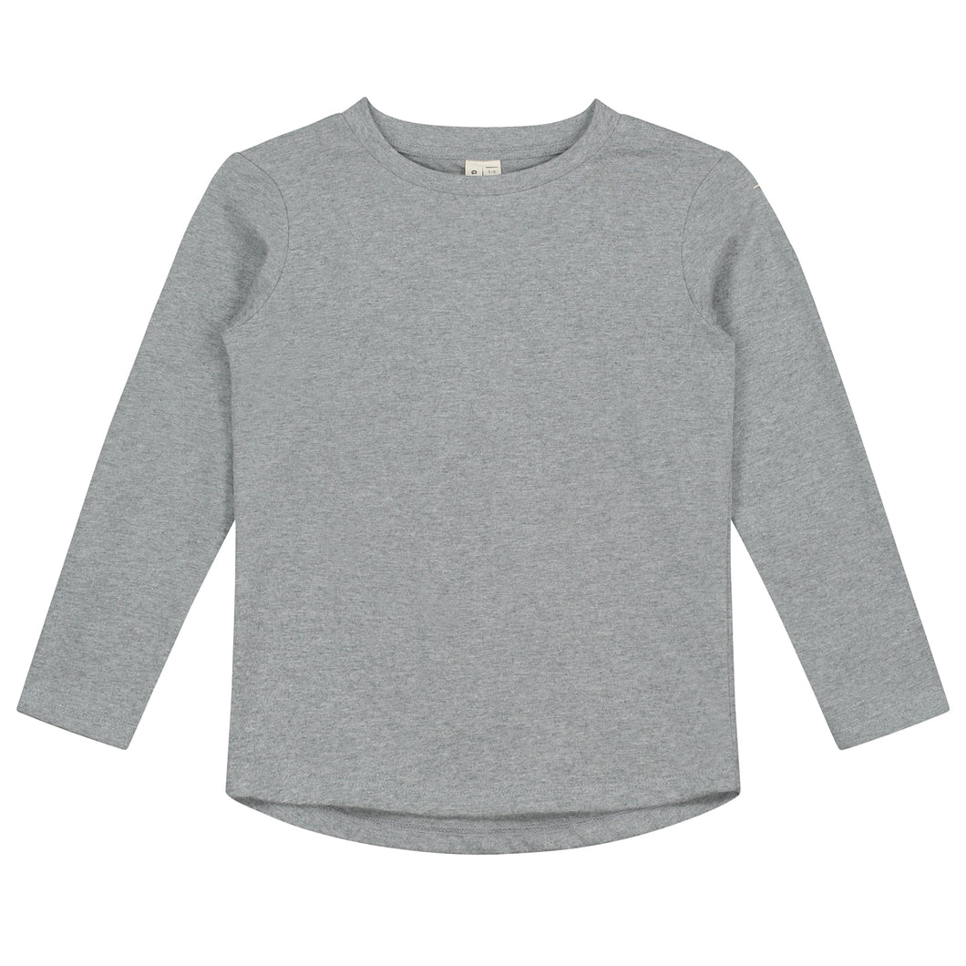 Gray Label Long Sleeve T-shirt // Grey Melange by Gray Label - Mini Pop Style