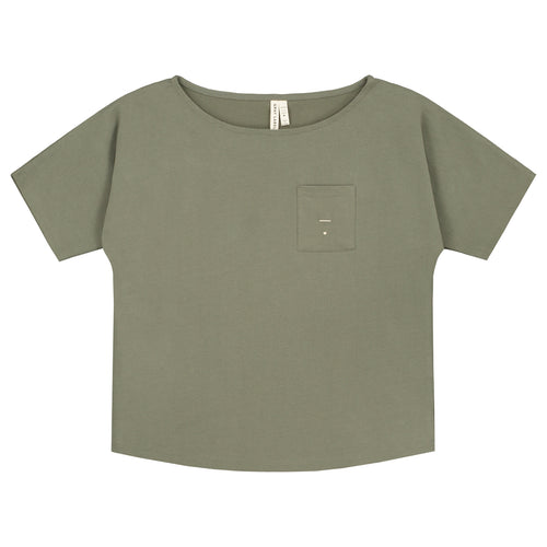 Gray Label Pocket T-shirt // Moss by Gray Label - Mini Pop Style