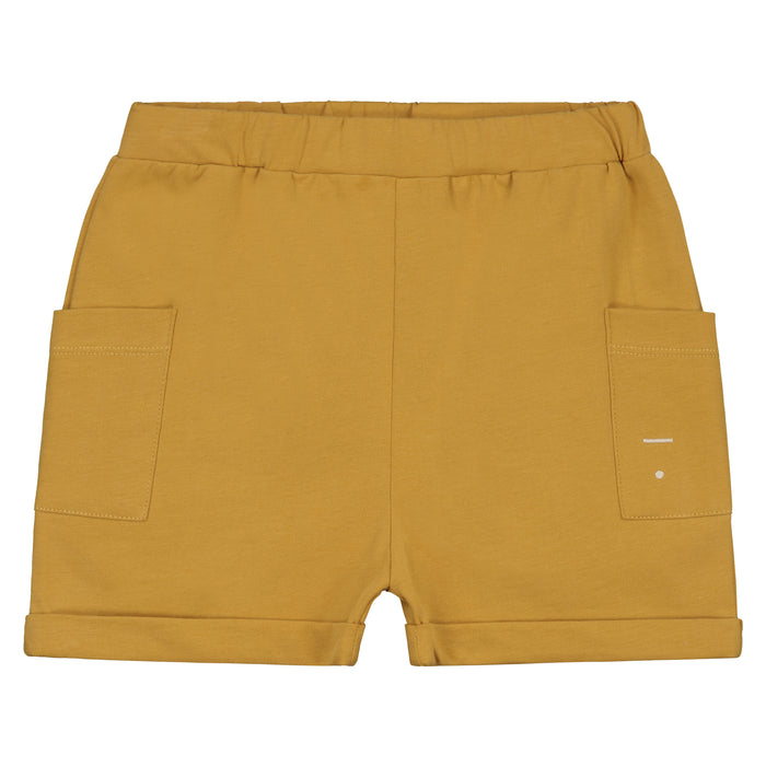 Gray Label Relaxed Pocket Shorts // Mustard by Gray Label - Mini Pop Style