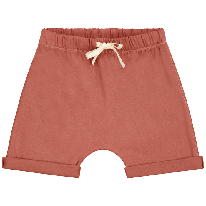 Gray Label Shorts // Faded Red