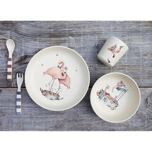 Load image into Gallery viewer, Konges Sløjd Flamingo Dinner Set