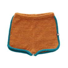 Load image into Gallery viewer, Oeuf 70'S Shorts Ochre // Teal by Oeuf - Mini Pop Style