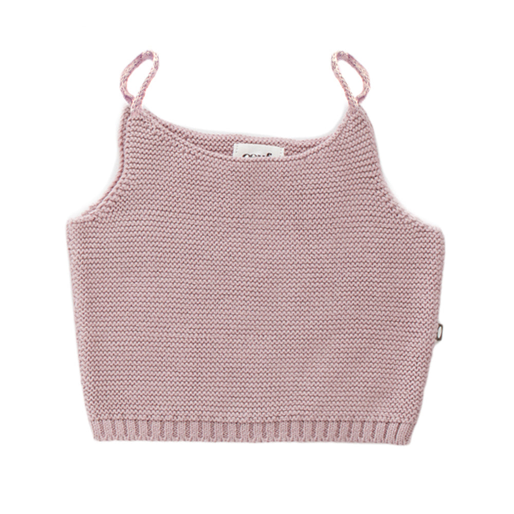 Oeuf Tie Strap Top // Mauve by Oeuf - Mini Pop Style