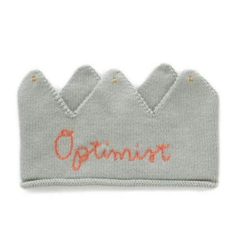 Oeuf Crown - Optimist // Blue Haze & Coral Almond by Oeuf - Mini Pop Style