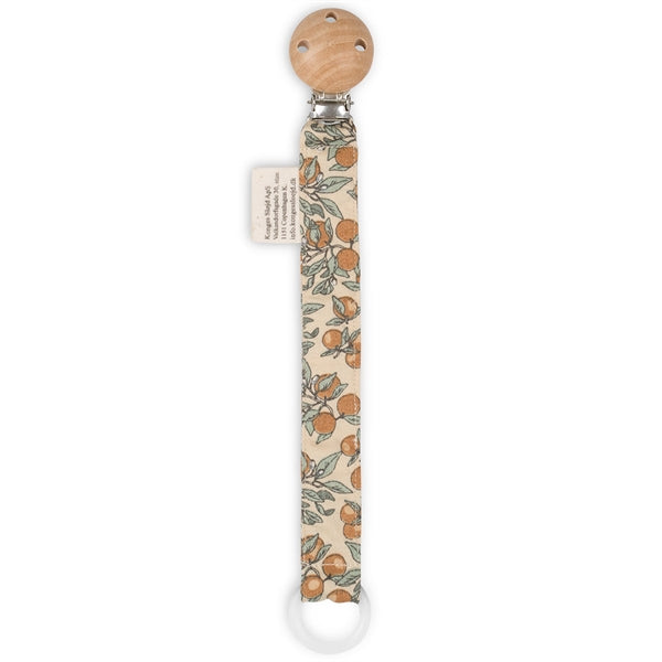Konges Sløjd Pacifier Strap Cotton // Orangery Beige