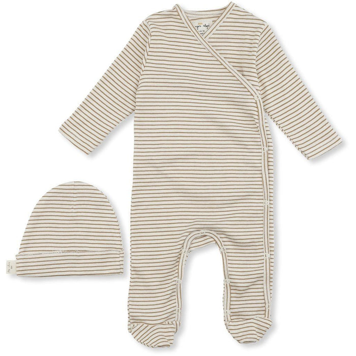 Konges Sløjd Dio Newborn Set Deux // Dark honey