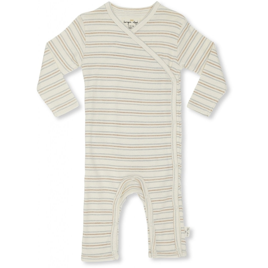Konges Sløjd New Born Onesie Deux  // Vintage Stripe