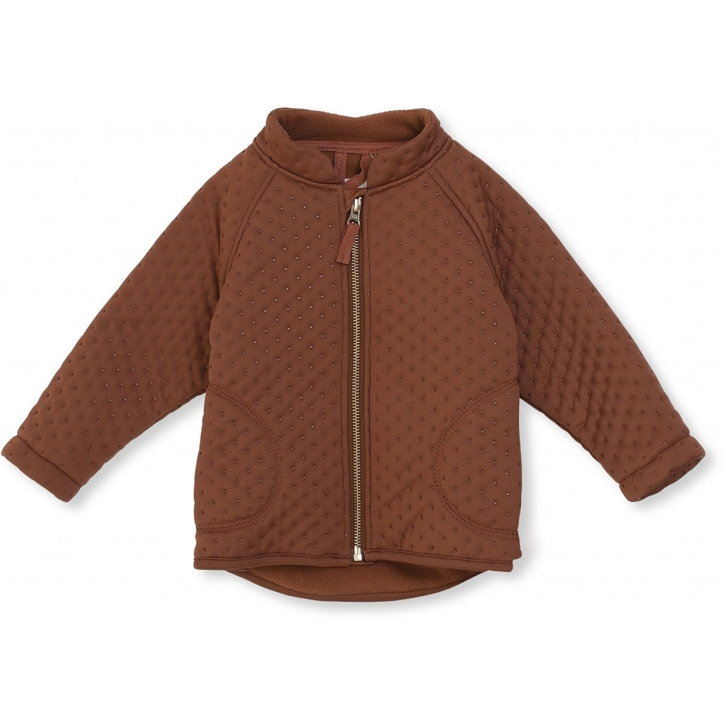 Konges Sløjd Thermo Jacket Deux // Biscay Brown by Konges Sløjd - Mini Pop Style