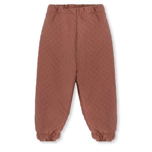 Konges Sløjd Thermo Pants Deux // Cedar Brown by Konges Sløjd - Mini Pop Style