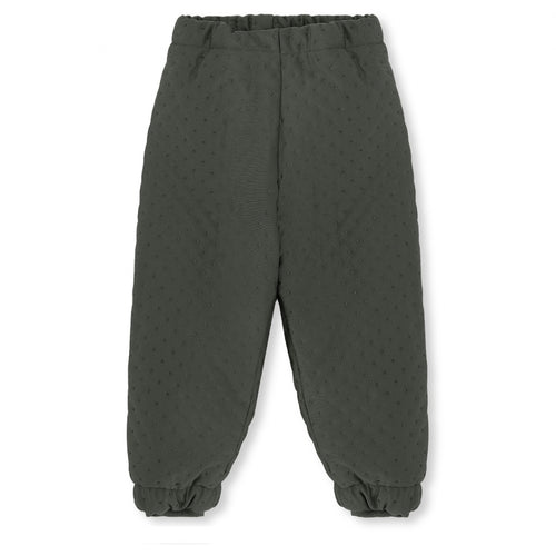 Konges Sløjd Thermo Pants Deux // Moss Grey by Konges Sløjd - Mini Pop Style