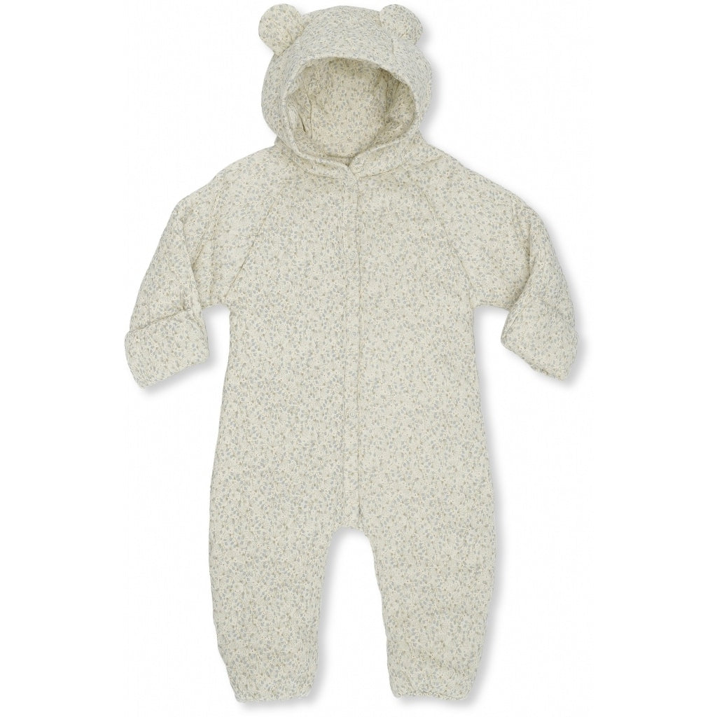 Konges Sløjd New Born Onesie With Hood // Melodie by Konges Sløjd - Mini Pop Style