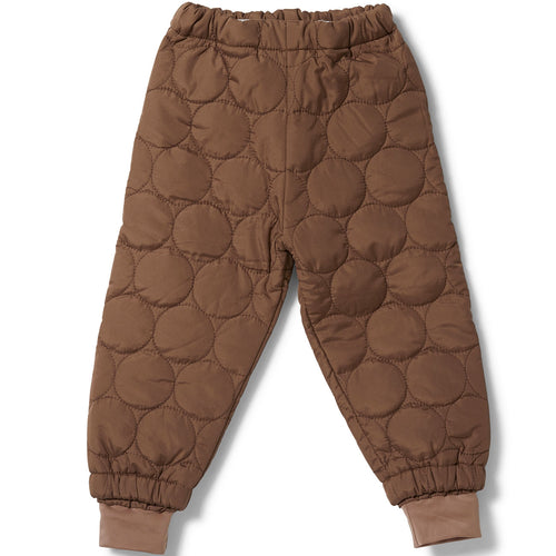 Konges Sløjd Thermo Pants Crinkle // Mocca