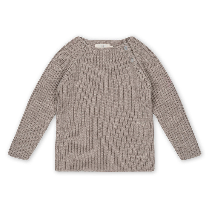 Konges Sløjd Toma Knit Blouse Wool // Paloma Brown