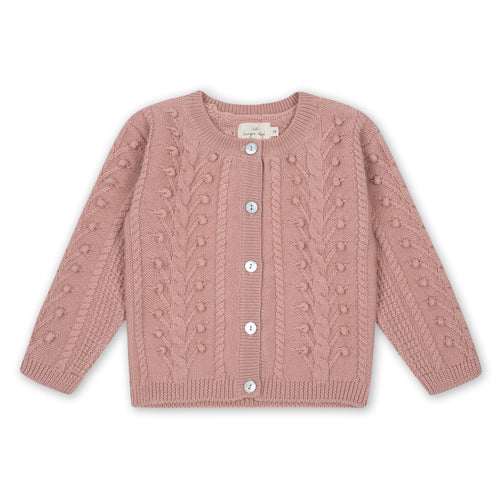 Konges Sløjd Silya Cardigan Wool // Rose Blush