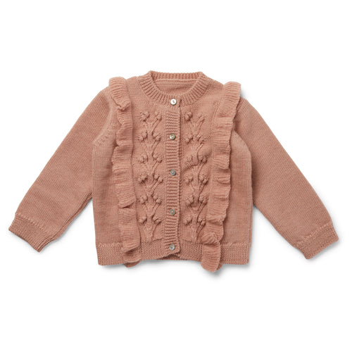Konges Sløjd Sienna Cardigan Wool // Rose Blush