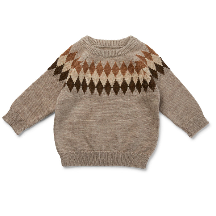 Konges Sløjd Milly O-Knit Wool // Paloma Brown