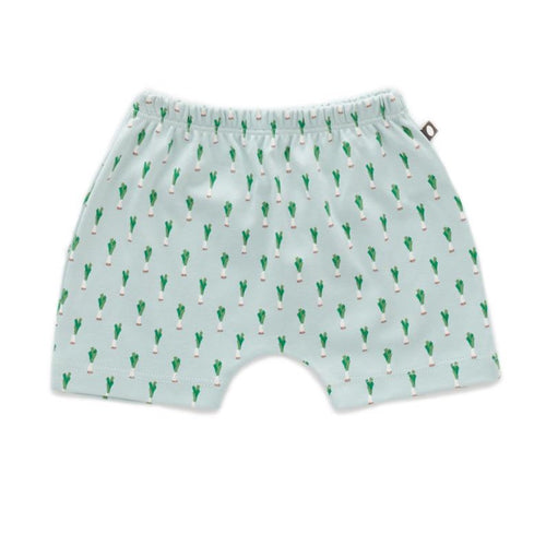 Oeuf Baby Shorts // Leek Print by Oeuf - Mini Pop Style