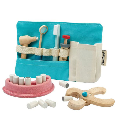 PlanToys Dentist Set by Plan Toys - Mini Pop Style