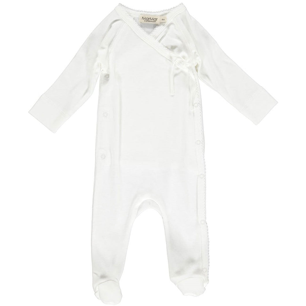 MarMar Rubetta Onesie // Gentle White by MarMar - Mini Pop Style