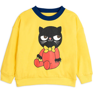 Mini Rodini Yellow Reversible Sweatshirt by Mini Rodini - Mini Pop Style