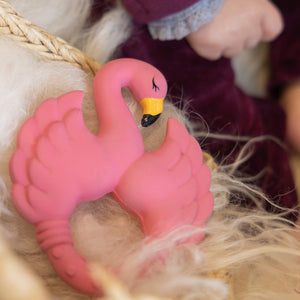Natruba Teether Flamingo
