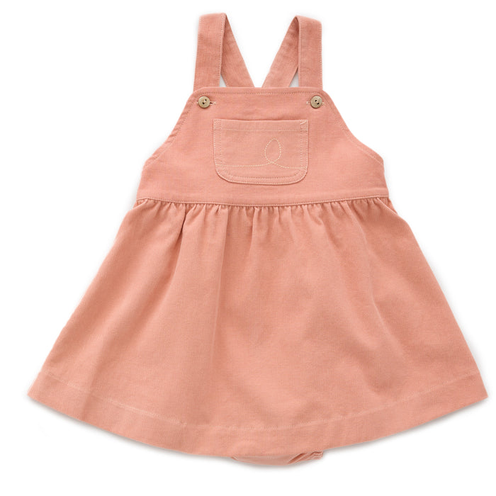 Oeuf Worker Overall Dress Bloomers // Canyon Sunset