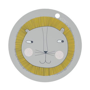OYOY Placemat Lion by OYOY - Mini Pop Style