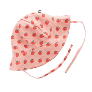 Oeuf Baby Hat // Tomato Print by Oeuf - Mini Pop Style