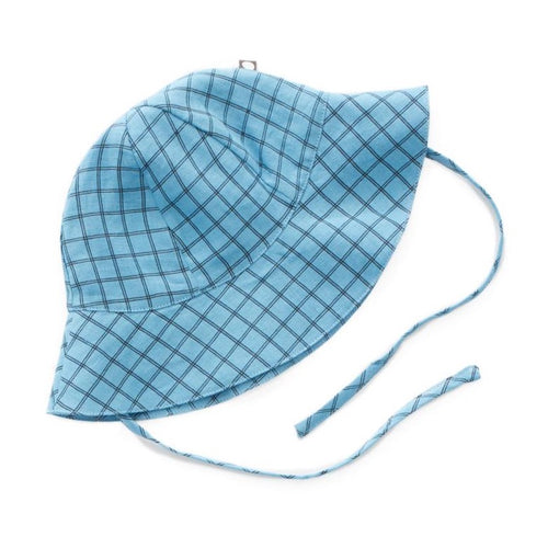 Oeuf Baby Hat // Blue Checks by Oeuf - Mini Pop Style