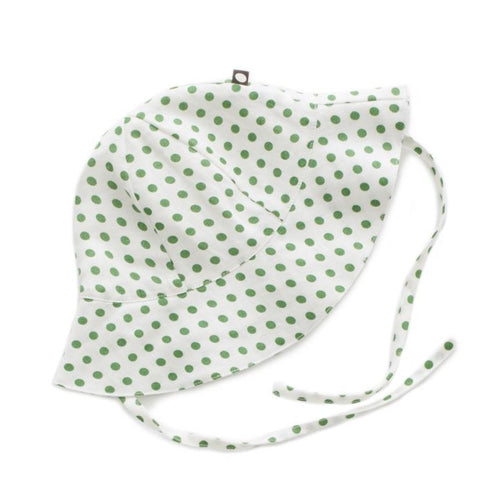 Oeuf Baby Hat // Green Dots by Oeuf - Mini Pop Style