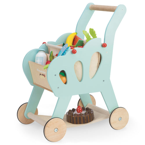 LE TOY VAN Shopping Trolley by LE TOY VAN - Mini Pop Style