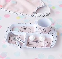 Load image into Gallery viewer, Done By Deer Toddler Dinner Set Happy Dots // Powder by done by deer - Mini Pop Style