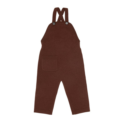 FUB Baby Felted Overalls Wool // Umber