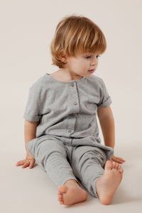 Gray Label Playsuit // Grey Melange by Gray Label - Mini Pop Style
