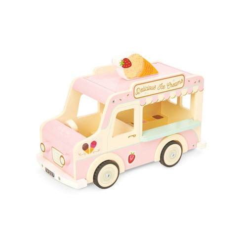 LE TOY VAN Dolls Vintage Ice Cream Van by LE TOY VAN - Mini Pop Style
