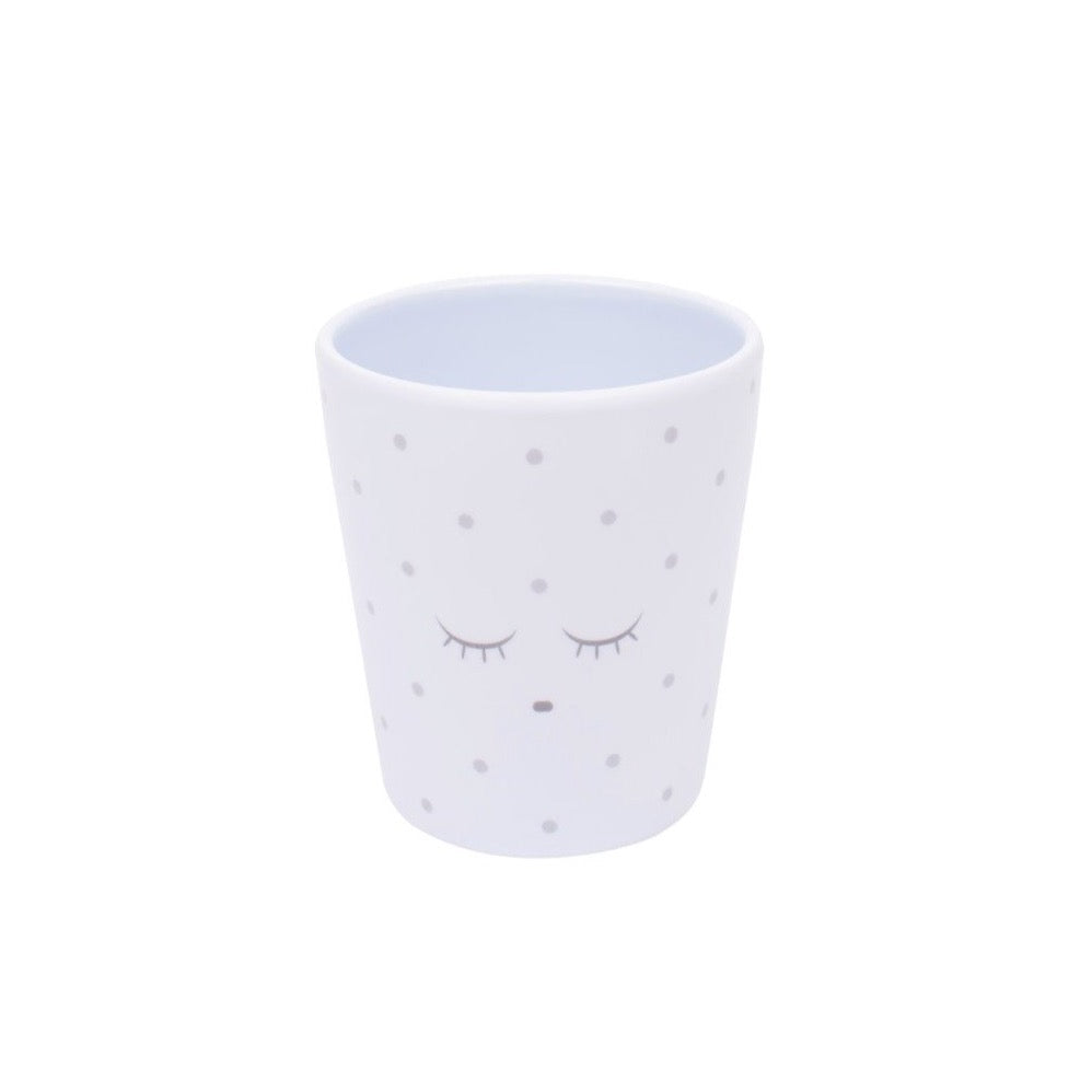 LIVLY Cup // Blue Silver Dots