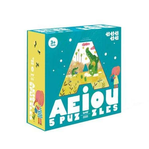 Londji AEIOU Puzzle by Londji - Mini Pop Style