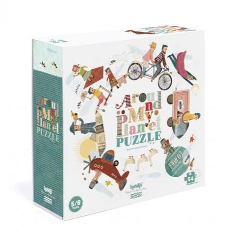 Londji Around My Planet Puzzle by Londji - Mini Pop Style