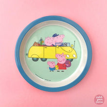 Load image into Gallery viewer, Petit Jour Paris Baby Plate Peppa Pig Grandparents by Petit Jour Paris - Mini Pop Style
