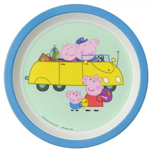 Petit Jour Paris Baby Plate Peppa Pig Grandparents by Petit Jour Paris - Mini Pop Style