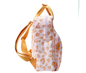Eef Lillemor Animal print backpacks Large // Orange by Eef Lillemor - Mini Pop Style