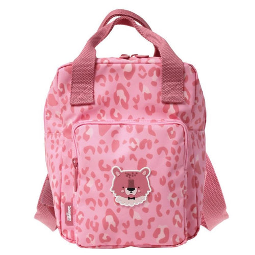 Eef Lillemor  Animal print backpacks Small // Pink - Mini Pop Style