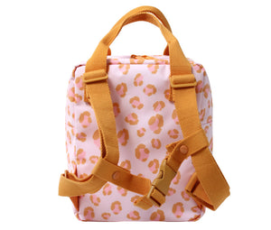 Eef Lillemor  Animal print backpacks Small // Orange by Eef Lillemor - Mini Pop Style