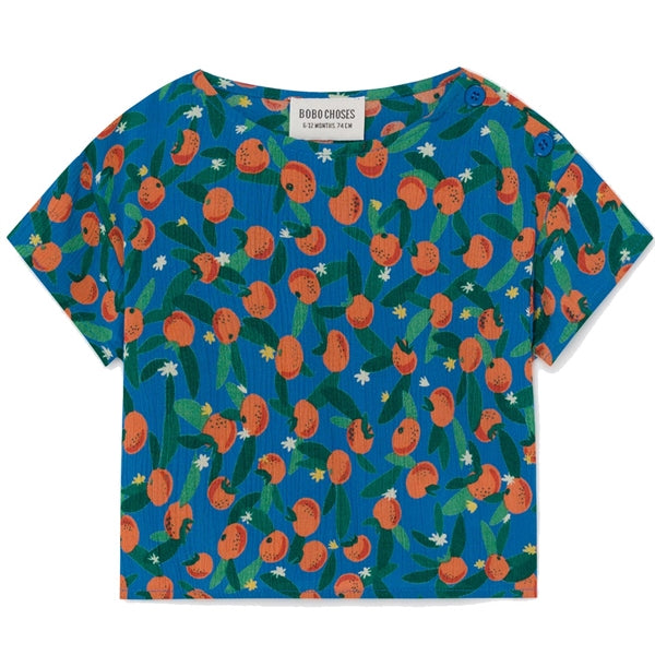 BOBO CHOSES All Over Oranges Blouse by BOBO CHOSES - Mini Pop Style