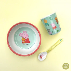 Petit Jour Paris Small Spoon Peppa Pig by Petit Jour Paris - Mini Pop Style