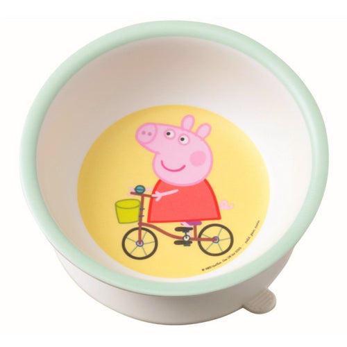 Petit Jour Paris Bowl with suction Peppa Pig by Petit Jour Paris - Mini Pop Style