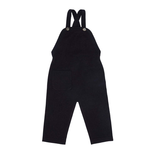 FUB Baby Felted Overalls Wool // Dark Navy