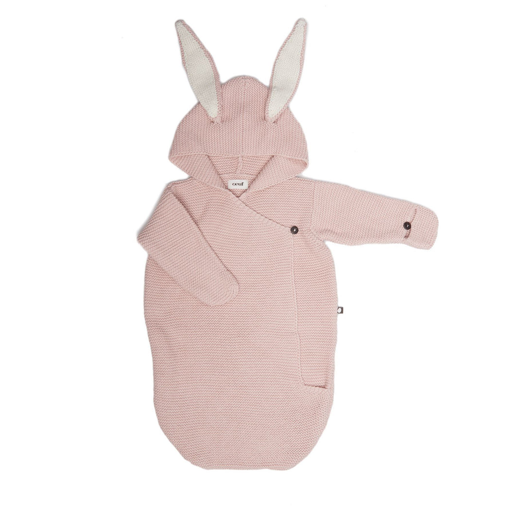 Oeuf Bunny Wrap // Cotton/Light Pink by Oeuf - Mini Pop Style
