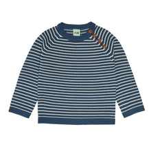 Load image into Gallery viewer, FUB Sweater Wool // Petrol/Ecru
